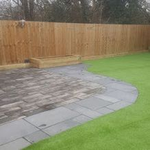 New fence and patio built in Barnsley