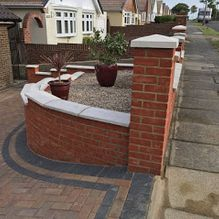 Paved Driveway and Landscaping in Barnsley