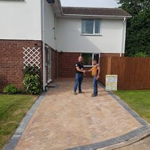 Paved Driveway in Barnsley
